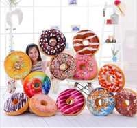 NewRealistic 3D Donuts pillow skin plush toy Sofa or office ...