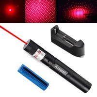 Puissant 303 stylo laser rouge pointeur 5mw 650m faisceau lumière 2in1 rouge brûlant laser stylo chapeau étoile + 18650 batterie + chargeur