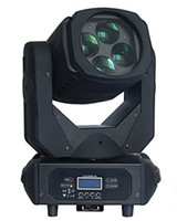 10pcs / lot 4x25w Super Beam Moving Head Head LED Light 4 * 25W LED Testa mobile per DJ Party Disco show palcoscenico