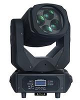 10pcs / lot 4x25w Super Beam Cabeza móvil LED 4 * 25W LED cabeza móvil para DJ Party Disco Show Light Light