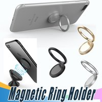 Magnetic Finger Ring Holder Mobile Phone Ring Mounts 360 Deg...