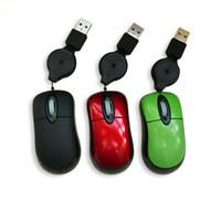 팩토리 아울렛 미니 스타일 철회 가능한 케이블 유선 마우스 노트북 오픈 소스 하드웨어 전자 DIY 키트 액세서리 도매