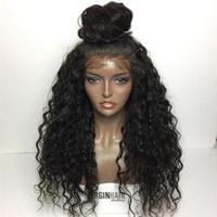 Brazilian Silk Base Wigs With Baby Hair Pre Plucked Full Lac...