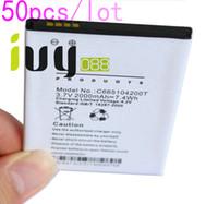 50 قطعة / الوحدة 2000 مللي أمبير C665104200T جديد صانعي القطع الأصلية البطارية ل بلو استوديو 5.0 s D570A بطاريات batteria