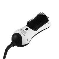 Magic Far Infrarouge Digital Sèche-cheveux Brosse Beauté Cheveux Drissure District Brosse Démarrage et Dry Infrare Infrarouge 2 en 1 Sèche-cheveux Brosse