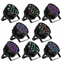 54X3W LED Bühnenbeleuchtung DMX 512 Steuerung LED DJ PAR Licht RGBW Bühnenbeleuchtung Projektor Party DJ KTV Bar Bühne Club