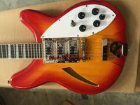 Cereja Explosão 12 cordas 3 captadores guitarra elétrica 325 330 de alta qualidade guitarra Atacado