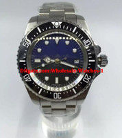 Luxury Top Quality 44mm Blue Black Dial Sea Dweller Movement...