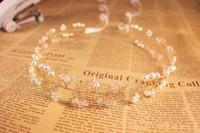 Yeni Varış Inciler Kafa Bandı Düğün Accessaries için Gelin 2019 Kristal Gümüş Altın Gelin Saç Bezemeler