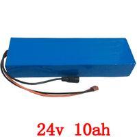 24V 10Ah литий электрический велосипед батареи 24v 10Ah Аккумулятор li-ion для велосипедов 24v 350w e велосипед 250w мотор с 15A BMS +зарядное устройство