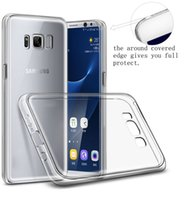 Clear Case-Abdeckung für Samsung S10 S10 Plus-Note 8 iPhone 11 pro max XR 7 8 Anti-Watermarking 1.0mm Qualitäts-TPU Kristall Flexible Fall