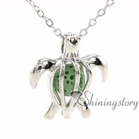 seaturtle openwork essential oil jewelry aromatherapy jewelr...