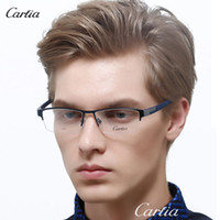 Carfia 30306 glasses men metal optical frames oculos de grau...