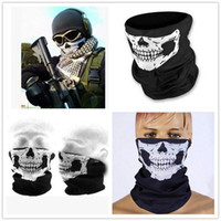 2017 Skull Flame Bandana Headband Sport Bicycle Bike Multi F...