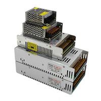 L'alta qualità DC 12V ha condotto il trasformatore 70W 120W 180W 200W 240W 300W 360W 400W di alimentazione per il LED strisce principali moduli CA 100-240V