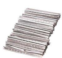 100pcs Aluminium Feuille de verrouillage Outils Toolsmith Tool de cueillette Ensemble de serruriers professionnels Fournitures rapides