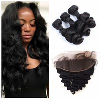 Full Frontal Lace Closure With Malaysian Virgin Human Hair W...