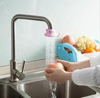 حار بيع wateraving صنبور المياه الفم تصفية صمام المقتصد الإبداعية الكرتون صنبور دش 1 قطع الروتاري صمام المياه الفم تصفية