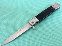 Promoção! SOG KS931A quente ao ar livre rápidos 2pcs Abrir Camping Survival faca dobrável Melhor Craft Presente Facas 5CR13 56HRC 150g