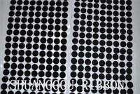 12мм диаметр монеты,1000sets в липкой подложкой крепежных точек. Клей круглый крюк и петля H210924