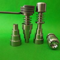 CHEFE Titanium 20mm Universal E-Nail para 20mm Bobinas 6 em 1 10mm 14mm 19mm Puro MEDICALGR2
