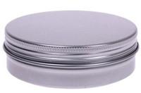 Frete Grátis 15g De Alumínio Lip Gloss Recipiente 15 ml Caixa De Batom De Metal Jar Balm Cosméticos Embalagem, 1000 pçs / lote