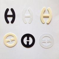 Mulheres Sutiã Invisível Fivela Perfeita Ajustar Bras Strap Clipe de Clivagem de Controle 3000 pçs / lote pacote de saco de opp