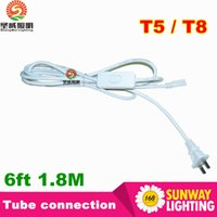 2016 LED tube lights connector cables 6ft 1. 8m for Integrate...