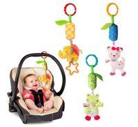 Bebek Arabası Peluş Çan Oyuncak Bebek Yumuşak Peluş Bed Çan Oyuncakları MYP 010