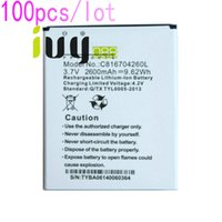 100pcs/lot 2600mAh C816704260L الجديدة 100 ٪ استبدال بطارية ليثيوم أيون BLU Dash 5.5 D470 D470A D470L D470U بطاريات Batteria Batterij