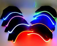 Berretto da baseball sportivo da uomo, da donna, moda, sportivo, cappellino, discoteca, hip-hop, festa, berretto da baseball, notte, berretto, acceso, illuminato, bagliore, cappello, sole, visiera