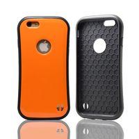 50pcs cor doce Coreia do estilo de absorção de choque Caixa do telefone 2 em 1 TPU + PC Hard Case tampa do silicone para o iPhone 6 polegadas HTC Marlin Caso Nexus
