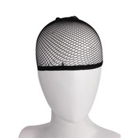 Großhandelspreis Elastic Hairnets Unisex Strumpf Perücke Liner Cap Snood Nylon Stretch Mesh Hairnets Freies Verschiffen