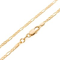 Классический популярный высокое качество 18K позолоченные золото ожерелье заполнены рождественские подарки персонализированные дикий ожерелье не исчезают