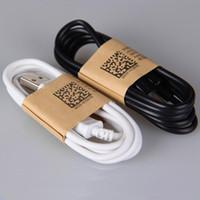 V8 micro usb 2.0 cabo de carregamento 5 p de sincronização de dados de alta velocidade do telefone celular carregador de cabos 1 m 3ft tpe material de transporte 2a para samsung android telefone