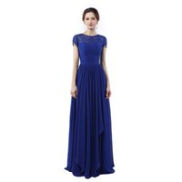 Abendkleider Lang 2017 Vestido Longo De Festa Para Casamento Royal Blue Prom  Dresses Cheap Long Evening Dresses 5e804e0ecc06