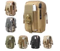 Универсальный открытый тактический кобура военная Molle хип талии пояс сумка кошелек сумка кошелек телефон чехол с застежкой-молнией для iPhone / Samsung / LG / HT