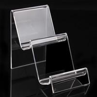 10 * 7 * 11,5 centimetri supporto del cellulare Braccialetti acrilici chiari braccialetti guardare portafoglio titolare gioielli espositore con nuovo piacevole A90 disegno