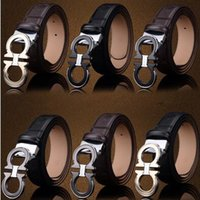 9b03df79750 Wholesale designer belt for sale - 10 Colors High Quality PU Leather Smooth  Buckle Belts Brand