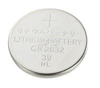 CR2032 리튬 망간 배터리, 3V, 용량 230mAh, 버튼 셀