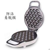 Masa Üstü yapışmaz Eelctric Yumurta Waffle Makinesi Makinesi, QQ Puf Kek Makinesi