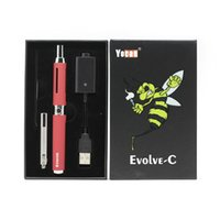 Kit original Yocan Evolve-C Evolve C Vaporizador de cera Vape Pen Kit 2 en 1 E Cigarette Starter Kits 5 colores