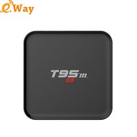 T95M Smart OTT TV Box WiFi S905x Android 6. 0 Media Player Qu...