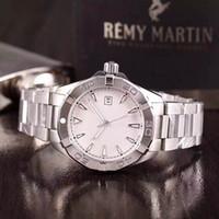 Neue Ankunft Kalib 5 300 m automatische Uhr für Männer Weißes Zifferblatt Edelstahl Band Silber Skelett L Casual Mechanische Uhren Montre Homme