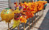 Dekor Gelb Größe 6 # 5.5m Drachentanz Kindervolks SILK Parad intelligente Bühne bunte Maskottchen Kostüm China besondere Kultur Urlaub
