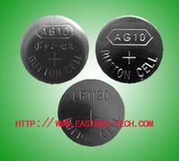 2000pcs AG10/Lot,AG10 LR1130 389 SR1130 189 LR54 V10GA 1.5v alkaline button cell battery mercury free