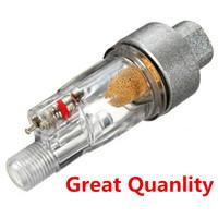 """New ABS Copper Core Airbrush Mini Air Filter Filtro per l'umidità Raccordo per tubo da 1/8 """"Vernice per pistole spray per verniciatura"""