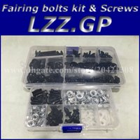 Parafusos de kit de parafusos de carenagem para YAMAHA YZF R1 2002 2003 YZFR1 02 03 YZF-R1 02-03 kit de parafusos de carenagem para carenagem