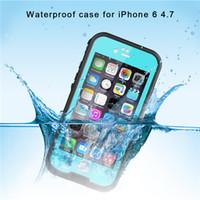 Redpepper prueba de golpes a prueba de polvo impermeable de la caja Piscina cubierta de la caja Surfing para iPhone 6 6 más con la caja al por menor