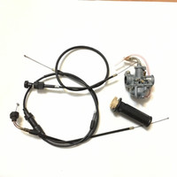 2019 NEW PW50 Part Carburetor Throttle & Choke Cables And